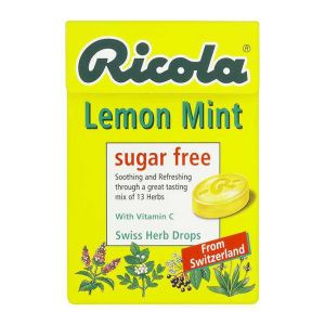 Ricola Lemon, Mint & Vitamin C Lozenges Sugar Free 45g