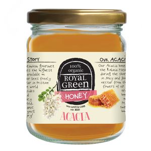 Royal Green 100% Organic Acacia Honey 250g