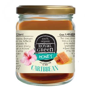 Royal Green 100% Organic Caribbean Honey 250g