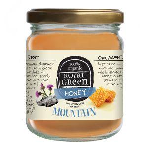 Royal Green 100% Organic Mountain Honey 250g