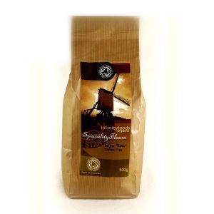 Infinity Foods Organic Soya Flour 500g