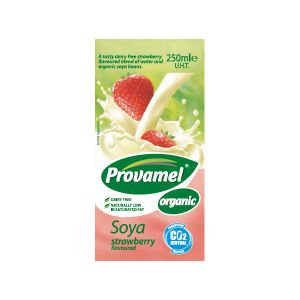 Provamel Organic Strawberryflavour Soya Milk 250ml
