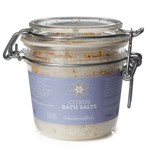 Baldwins Synergy Citrus Bath Salts 310g