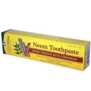 Theraneem Naturals Neem Toothpaste With Cinnamon 120g