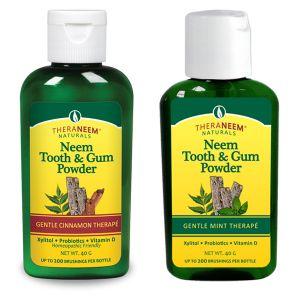 Theraneem Naturals Neem Tooth And Gum Powder 40g