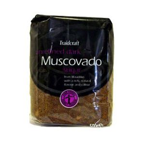 Traidcraft Unrefined Muscovado Sugar 500g