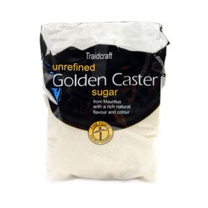 Traidcraft Unrefined Golden Caster Sugar 500g