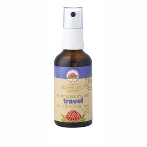 Australian Bush Flower Essences Organic Travel Mist 50ml