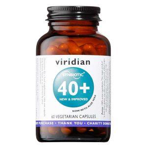 Viridian 40+ Synbiotic Complex 60 Veg Capsules