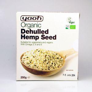Yaoh Organic Dehulled Hemp Seed 250g