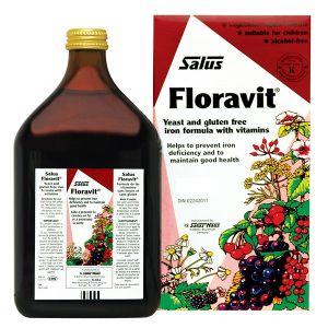 Salus Floravital Liquid Iron Formula 500ml (yeast And Gluten Free)