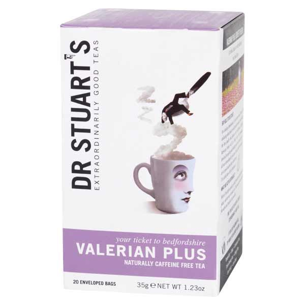 Dr Stuarts Valerian Plus Tea (15 Tea Bags)
