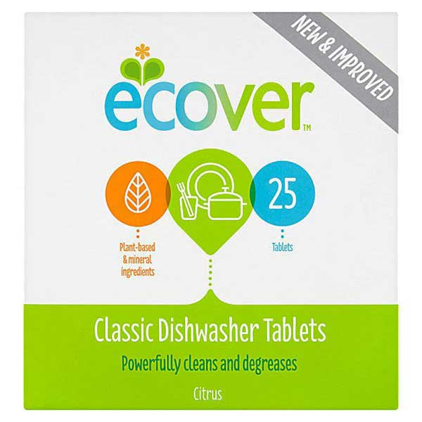 Ecover Classic Dishwasher Tablets - Citrus 25 Tablets