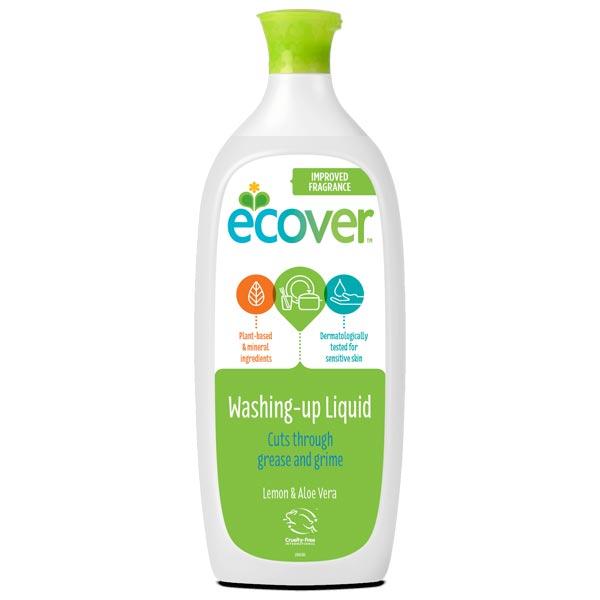 Ecover Washing Up Liquid - Lemon and Aloe Vera 1 Litre