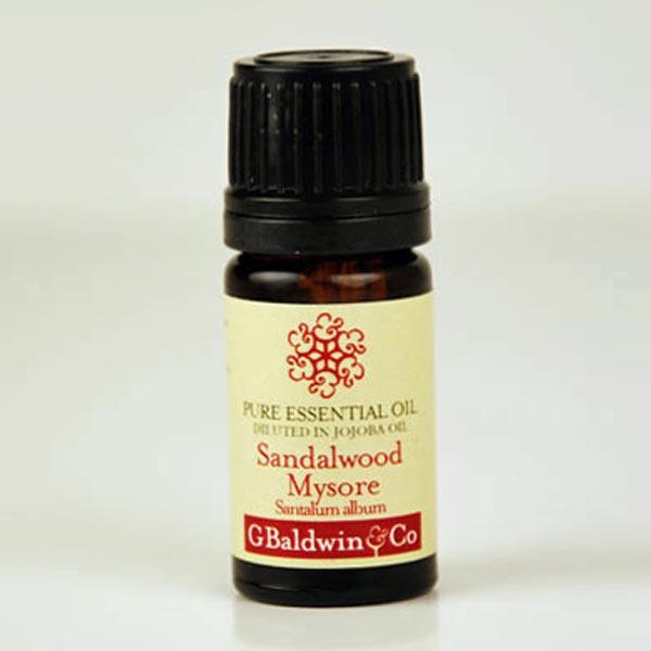 Baldwins Sandalwood Mysore (santalum Album) Essential Oil Diluted 10% In Jojoba Oil