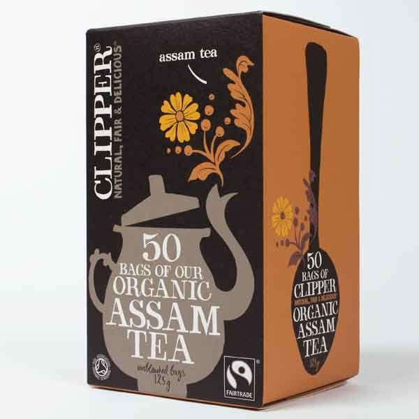Clipper Organic Assam Tea 50 Teabags