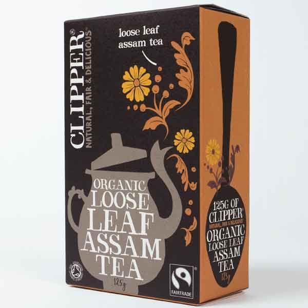 Clipper Organic Loose Leaf Assam Tea 125g