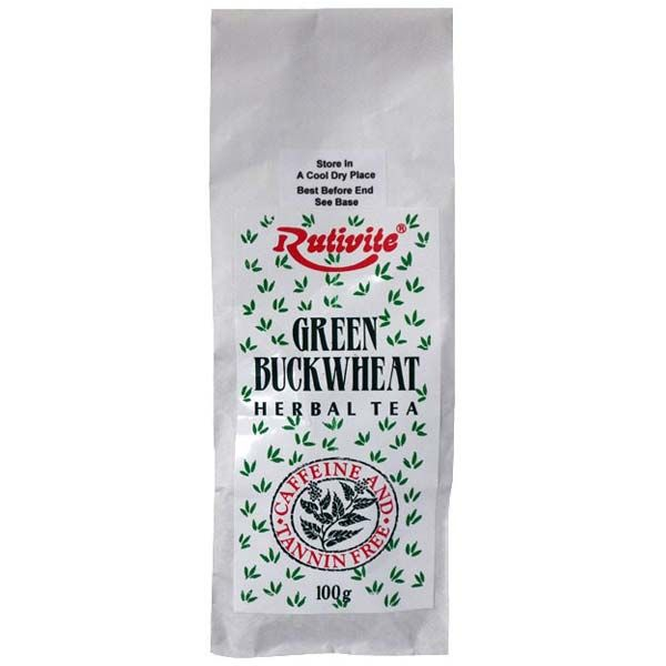 Rutivite Green Buckwheat Herbal Tea 100g