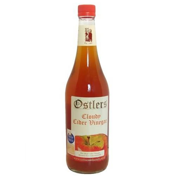 Ostlers Cloudy Apple Cider Vinegar (With The Mother) 750ml