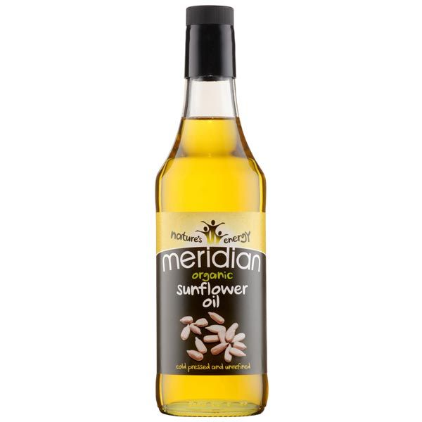 Meridian Organic Sunflower Oil Unrefined 500ml