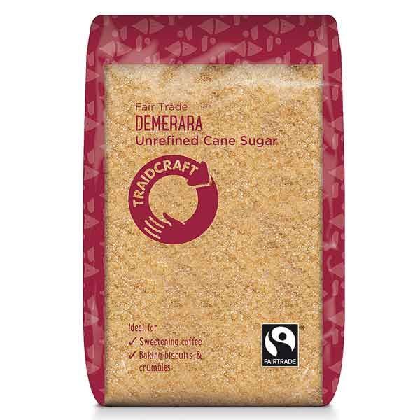 Traidcraft Unrefined Demerara Sugar 500g