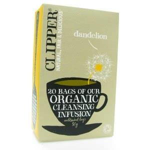 Liver Cleansing and Boosting Ingredients to Jumpstart Your January! - Clipper Dandelion Tea