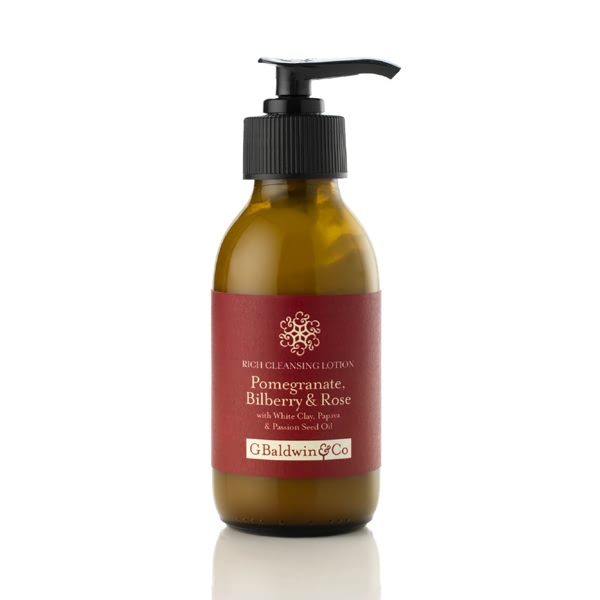 5 Benefits of Rose Petals for Natural Health and Beauty - Baldwins Pomegranate, Bilberry & Rose Rich Cleansing Lotion