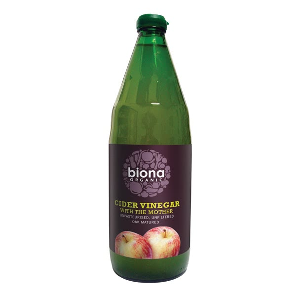 5 Natural Ingredients to Improve the Health of your Hair, Skin and Nails - Biona Organic Apple Cider Vinegar