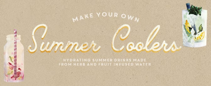 Summer Coolers – DIY Detox Water Recipes
