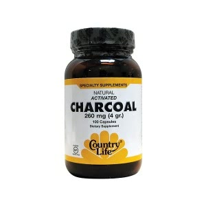 Activated Charcoal - CountryLife Charcoal Capsules