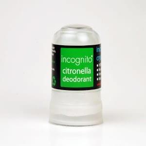 Natural Insect Repellents and Bite Remedies - Incognito Citronella Deodorant