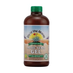 Activated Charcoal - Lily Of The Desert Whole Leaf Aloe Vera Gel