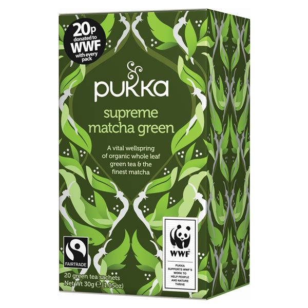 The Benefits Of Green Tea - Pukka Supreme Matcha Green Tea