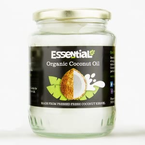 Essential Organic Coconut Oil Jar