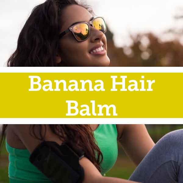 Natural Banana Remedy for Dry Hair