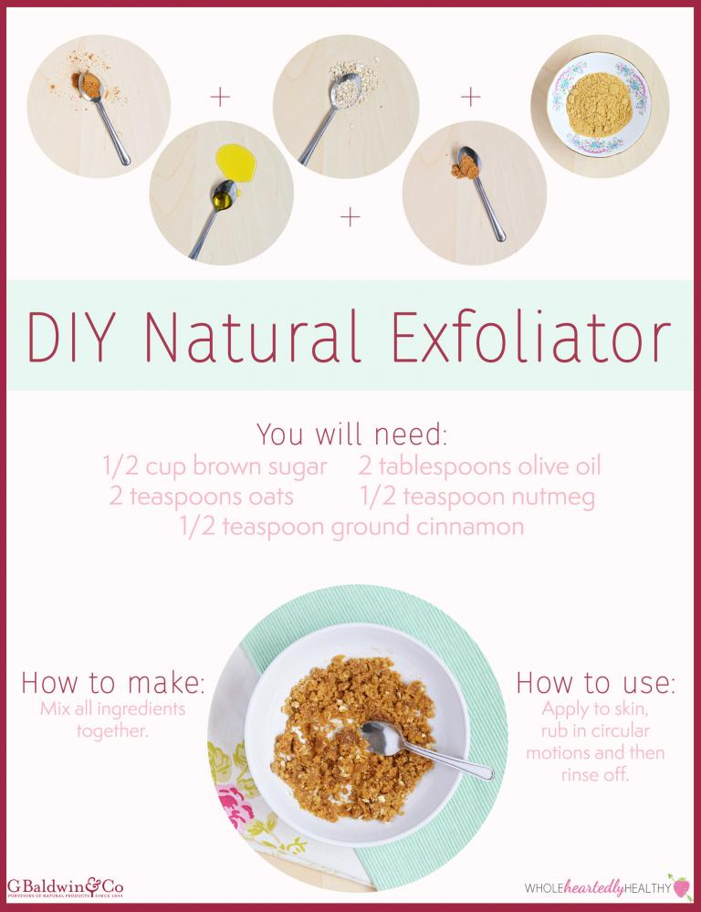 Build Your Own Natural Skincare Routine – DIY Natural Cleanser and Exfoliator