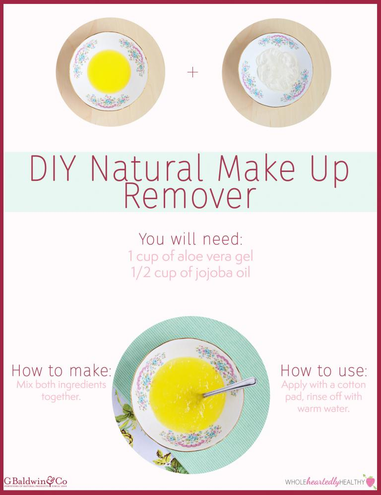 DIY Natural Make Up Remover and Spot Treatment