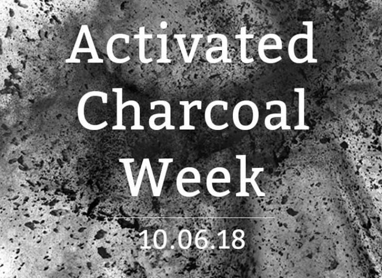 Hooray for Activated Charcoal Week