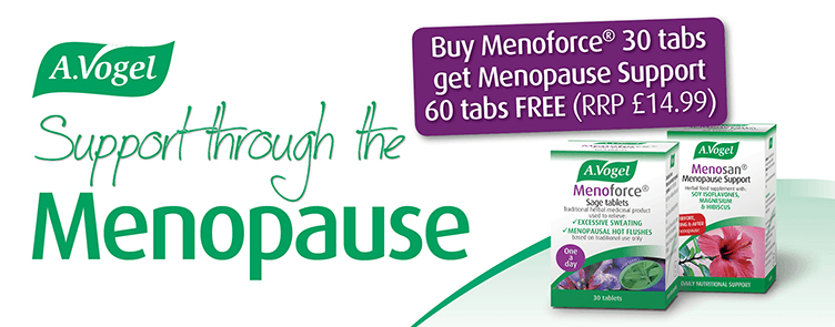 Buy 30 Menoforce Tablets - Get 60 Menosan Tablets Free!
