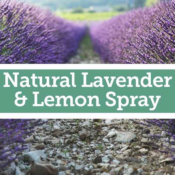 Baldwins Natural Lemon & Lavender Spray