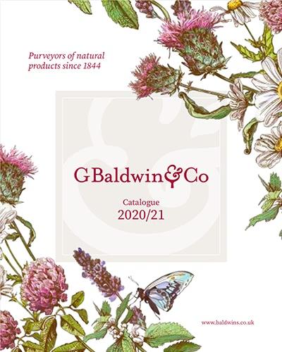 front cover Baldwins catalogue