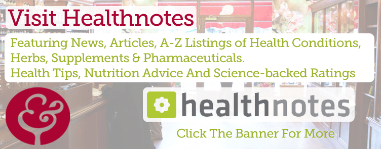 Healthnotes - Advice & Articles On Herbs, Supplements And Nutrition