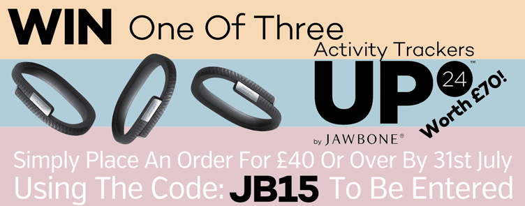 Win One Of Three Jawbone Activity Trackers - Worth £70