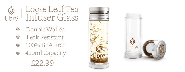 Libre Loose Leaf Tea Glass | 100% BPA Free