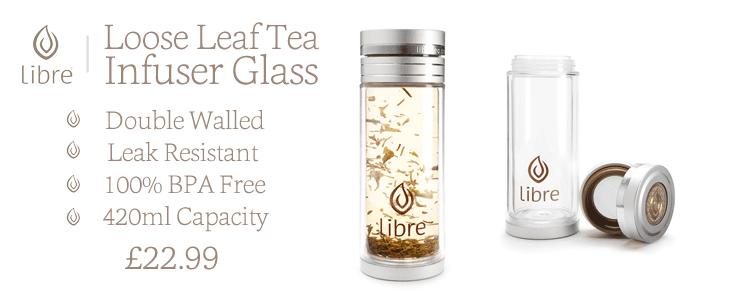 Libre Loose Leaf Tea Glass | 100% BPA Free