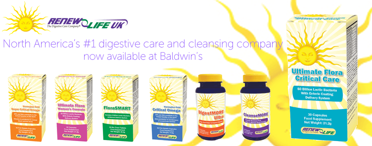 Renew Life - Now Available At www.baldwins.co.uk
