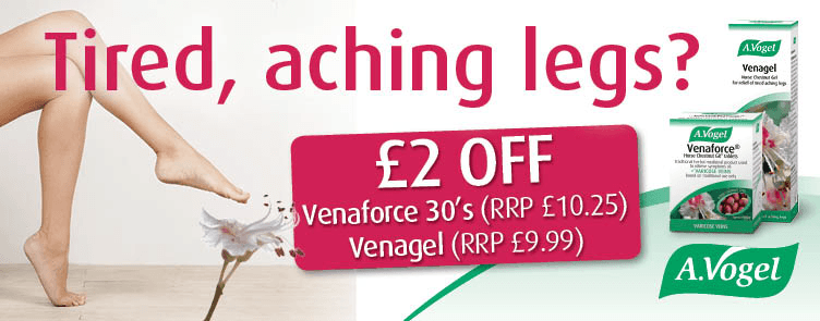 A Vogel Venaforce 30's & Venagel 100ml - Special Limited Offer £2 Off!