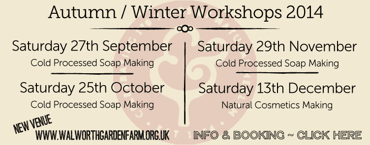 Autumn - Winter Workshop Calender